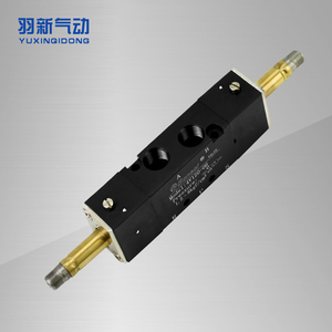 4V120-06双电控电磁阀